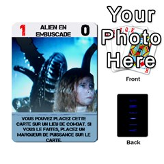Aliens: French By Mark Chaplin   Playing Cards 54 Designs   18qsylr5cbdn   Www Artscow Com Front - Spade3