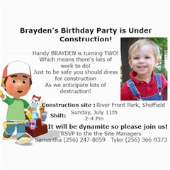 Brayden s Birthday Cards By Samantha   5  X 7  Photo Cards   Rrzgqucvz0zl   Www Artscow Com 7 x5 Photo Card - 7