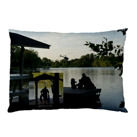 On The Dock Pillow By Jody Miller   Pillow Case   Rqdnuqoeog7q   Www Artscow Com 26.62 x18.9 Pillow Case