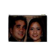 Family By Faye Vagay   Cosmetic Bag (medium)   Jp7aqn1ofm50   Www Artscow Com Back
