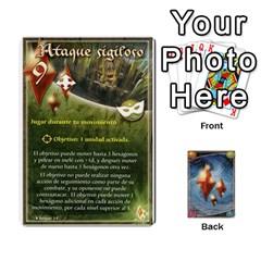 Battelore Cartas Lore  By Alex   Playing Cards 54 Designs   Jitzvpdkf4zm   Www Artscow Com Front - Spade2