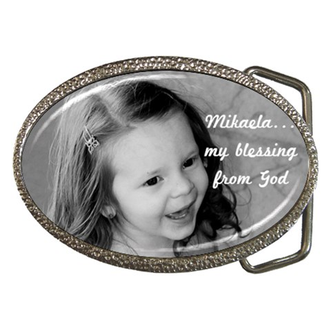 My Buckle By Michelle Flory   Belt Buckle   Nmfjpwgfliel   Www Artscow Com Front