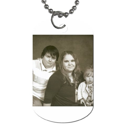 Dog Tags By Tonya Smith   Dog Tag (one Side)   Axil7e9m0j78   Www Artscow Com Front