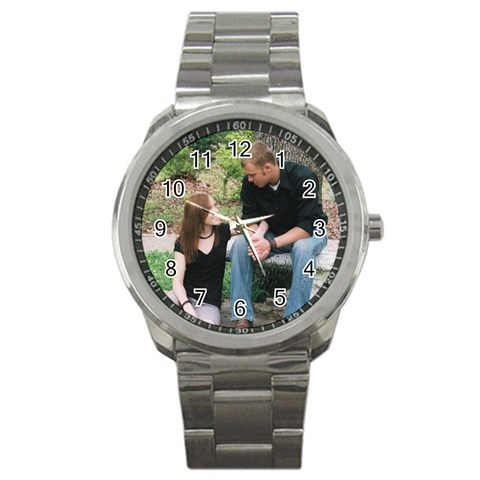 Bub s Watch 2 By Megan Foster   Sport Metal Watch   X1gkvsgz4xet   Www Artscow Com Front
