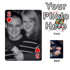 Mallory s Cards By Mallory   Playing Cards 54 Designs   2prxd4cbrx2m   Www Artscow Com Front - Heart5