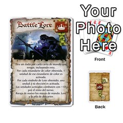 Battelore Cartas De Mando By Alex   Playing Cards 54 Designs   1wgypnk0hs6w   Www Artscow Com Front - Heart6