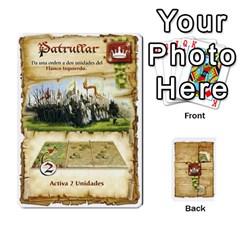 Battelore Cartas De Mando By Alex   Playing Cards 54 Designs   1wgypnk0hs6w   Www Artscow Com Front - Spade4