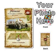Battelore Cartas De Mando By Alex   Playing Cards 54 Designs   1wgypnk0hs6w   Www Artscow Com Front - Club4