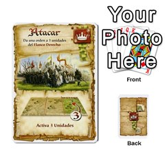 Battelore Cartas De Mando By Alex   Playing Cards 54 Designs   1wgypnk0hs6w   Www Artscow Com Front - Club6