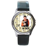 daddy - Round Metal Watch