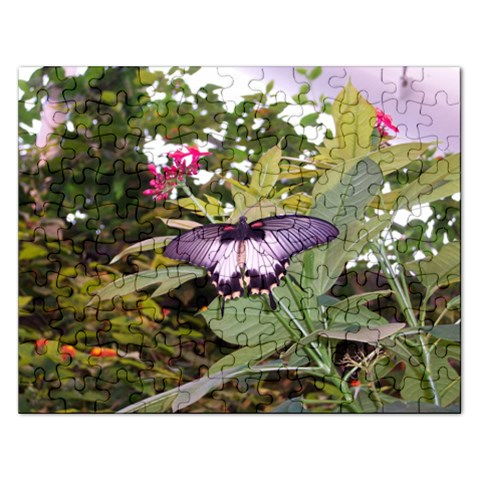Butterfly Puzzle By Marji   Jigsaw Puzzle (rectangular)   Vgsuka6ff0bs   Www Artscow Com Front