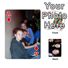 Ace Dad s Playing Cards By Rtchasse   Playing Cards 54 Designs   R6nn2sxss6hu   Www Artscow Com Front - DiamondA