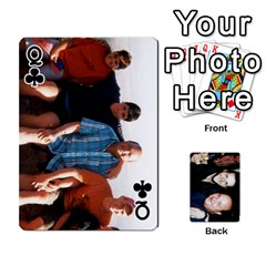 Queen Dad s Playing Cards By Rtchasse   Playing Cards 54 Designs   R6nn2sxss6hu   Www Artscow Com Front - ClubQ