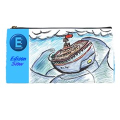 Edison001 By Dora Chua   Pencil Case   Ntws9ab0mesm   Www Artscow Com Front