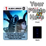 Aliens Card Game - Playing Cards 54 Designs