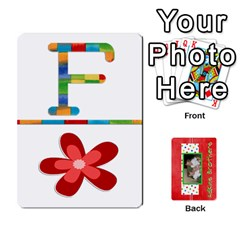 New Flash Cards By Brookieadkins Yahoo Com   Playing Cards 54 Designs   R6dlbgz1lm57   Www Artscow Com Front - Diamond7