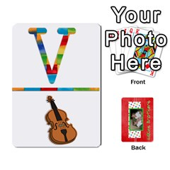 New Flash Cards By Brookieadkins Yahoo Com   Playing Cards 54 Designs   R6dlbgz1lm57   Www Artscow Com Front - Club9