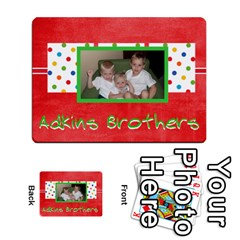 New Flash Cards By Brookieadkins Yahoo Com   Playing Cards 54 Designs   R6dlbgz1lm57   Www Artscow Com Back