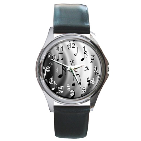 X By Kara   Round Metal Watch   Qpjnpz5122zc   Www Artscow Com Front
