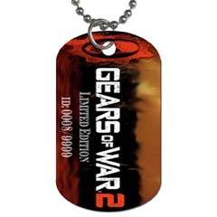 Gears Of War 2 By Alexander Stephens   Dog Tag (two Sides)   Wnqbkznja1e2   Www Artscow Com Front