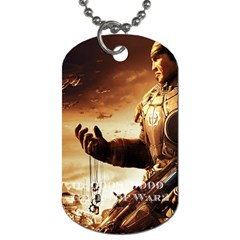 Gears Of War 2 By Alexander Stephens   Dog Tag (two Sides)   Wnqbkznja1e2   Www Artscow Com Back