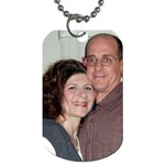 around my neck...near my heart! - Dog Tag (One Side)
