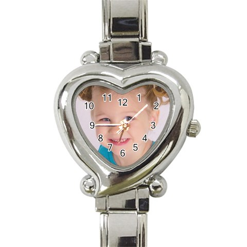 Addy On A Watch By Charel Cooper   Heart Italian Charm Watch   Gssj5o8s81tf   Www Artscow Com Front