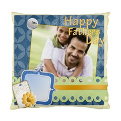Happy Father Day By Joely   Standard Cushion Case (two Sides)   E5ih6gyxmmz6   Www Artscow Com Back