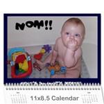 Andy Calendar - Wall Calendar 11  x 8.5  (18 Months)
