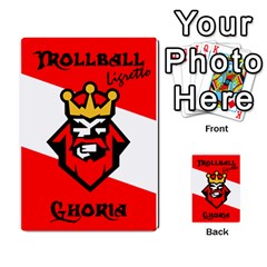 Gorghor Trollball Deck 3   Mixed By Wazo   Multi Purpose Cards (rectangle)   5tts51932x5h   Www Artscow Com Back 21
