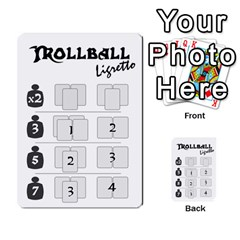 Gorghor Trollball Deck 3   Mixed By Wazo   Multi Purpose Cards (rectangle)   5tts51932x5h   Www Artscow Com Back 46