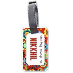 Bt1 By Mom2nikki   Luggage Tag (two Sides)   Ka75w6h9rsje   Www Artscow Com Back