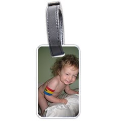 Embag Tag By Charlotte   Luggage Tag (two Sides)   8z3mcep7i7yj   Www Artscow Com Front