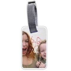 Embag Tag By Charlotte   Luggage Tag (two Sides)   8z3mcep7i7yj   Www Artscow Com Back
