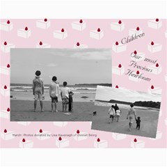 Our Children Our Future By Kimberly Phelan   Wall Calendar 11  X 8 5  (18 Months)   Sjhfqrzuni53   Www Artscow Com Month