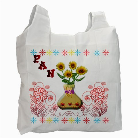 Bolsa De Pan By Lydia   Recycle Bag (one Side)   25dnys35ghim   Www Artscow Com Front