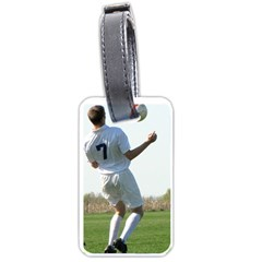 Robbie Soccer Luggage Tag By Nancy   Luggage Tag (two Sides)   Owpug3ndxlev   Www Artscow Com Front