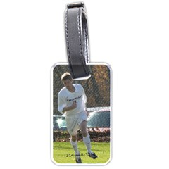 Robbie Soccer Luggage Tag By Nancy   Luggage Tag (two Sides)   Owpug3ndxlev   Www Artscow Com Back