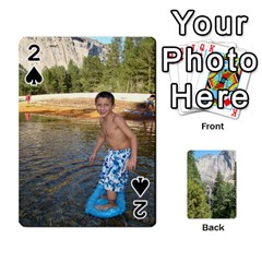 Yosemite Cards By Amy Barton   Playing Cards 54 Designs   3x9hom9gt9cu   Www Artscow Com Front - Spade2