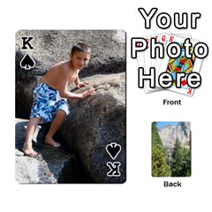 King Yosemite Cards By Amy Barton   Playing Cards 54 Designs   3x9hom9gt9cu   Www Artscow Com Front - SpadeK