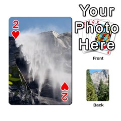 Yosemite Cards By Amy Barton   Playing Cards 54 Designs   3x9hom9gt9cu   Www Artscow Com Front - Heart2