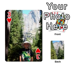 Yosemite Cards By Amy Barton   Playing Cards 54 Designs   3x9hom9gt9cu   Www Artscow Com Front - Heart3