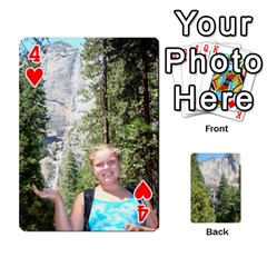 Yosemite Cards By Amy Barton   Playing Cards 54 Designs   3x9hom9gt9cu   Www Artscow Com Front - Heart4