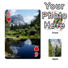 Yosemite Cards By Amy Barton   Playing Cards 54 Designs   3x9hom9gt9cu   Www Artscow Com Front - Heart6