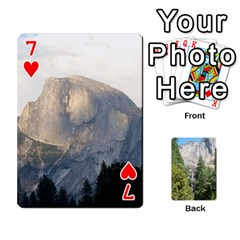 Yosemite Cards By Amy Barton   Playing Cards 54 Designs   3x9hom9gt9cu   Www Artscow Com Front - Heart7