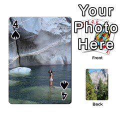 Yosemite Cards By Amy Barton   Playing Cards 54 Designs   3x9hom9gt9cu   Www Artscow Com Front - Spade4