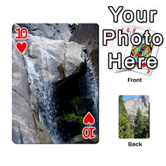 Yosemite Cards By Amy Barton   Playing Cards 54 Designs   3x9hom9gt9cu   Www Artscow Com Front - Heart10