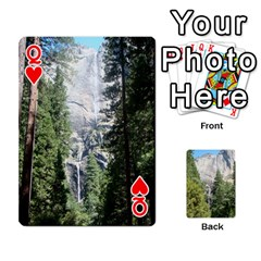 Queen Yosemite Cards By Amy Barton   Playing Cards 54 Designs   3x9hom9gt9cu   Www Artscow Com Front - HeartQ