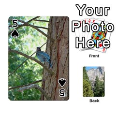 Yosemite Cards By Amy Barton   Playing Cards 54 Designs   3x9hom9gt9cu   Www Artscow Com Front - Spade5