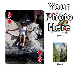 Yosemite Cards By Amy Barton   Playing Cards 54 Designs   3x9hom9gt9cu   Www Artscow Com Front - Diamond9